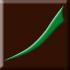 brązowy, matowy z zielonym dekorem (E)